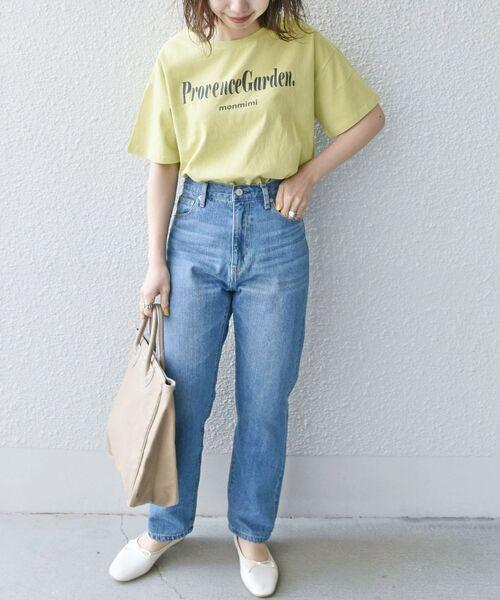 【SHIPS any別注】MONMIMI: プリント Tシャツ2