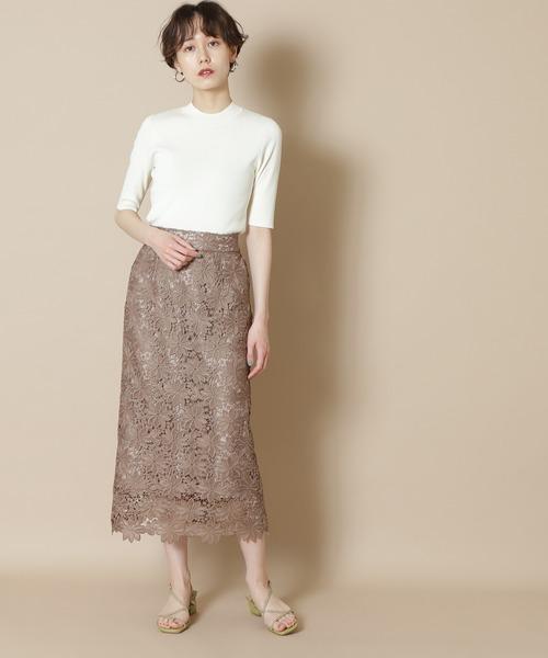 【追加生産】◆ケミカルレースロングスカート