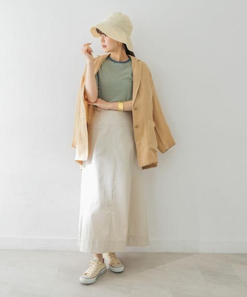 [URBAN RESEARCH] 綿麻チノAラインスカート