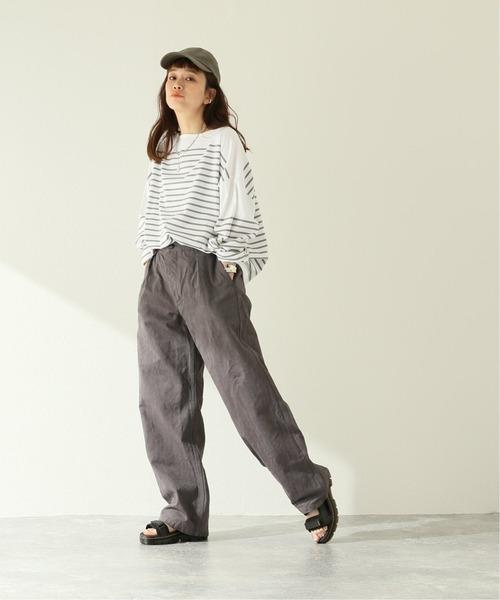 [JOURNAL STANDARD] 【ARMEN/アーメン】ONE-TUCK PANTS:パンツ