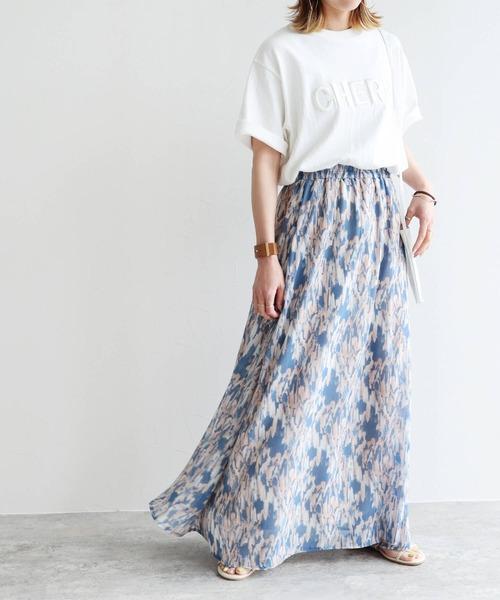 [reca] 立体刺繍ロゴTシャツ