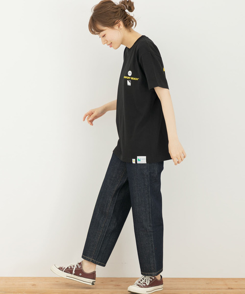 [URBAN RESEARCH Sonny Label] 【別注】BYRD×OFFSHORE×Sonny Label サークルTシャツ