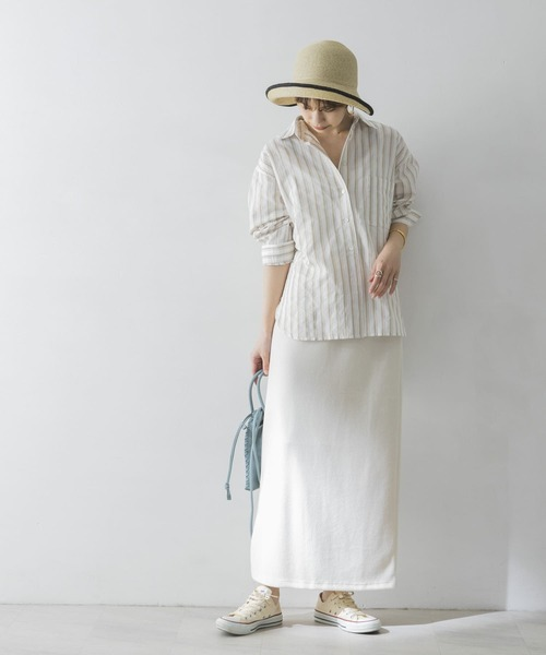 [URBAN RESEARCH] ブークレライトリバーロングスカート