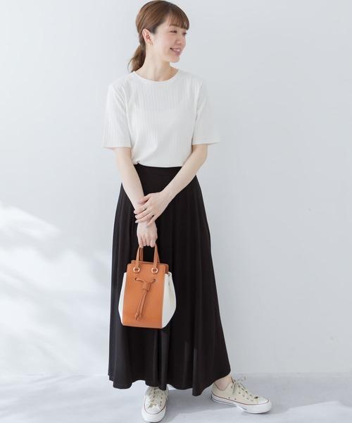 [URBAN RESEARCH Sonny Label] カットフレアロングスカート