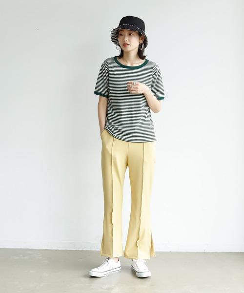 リンガーボーダーTシャツ