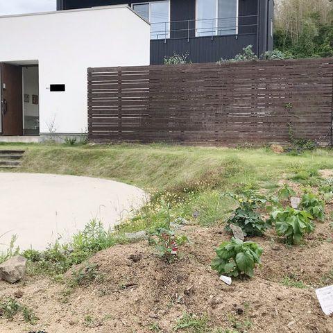 洋風のお庭8