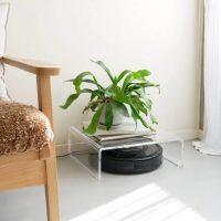 ロボット掃除機のお家「ロボクルハウス」。存在感と生活感を隠しながら収納できる!