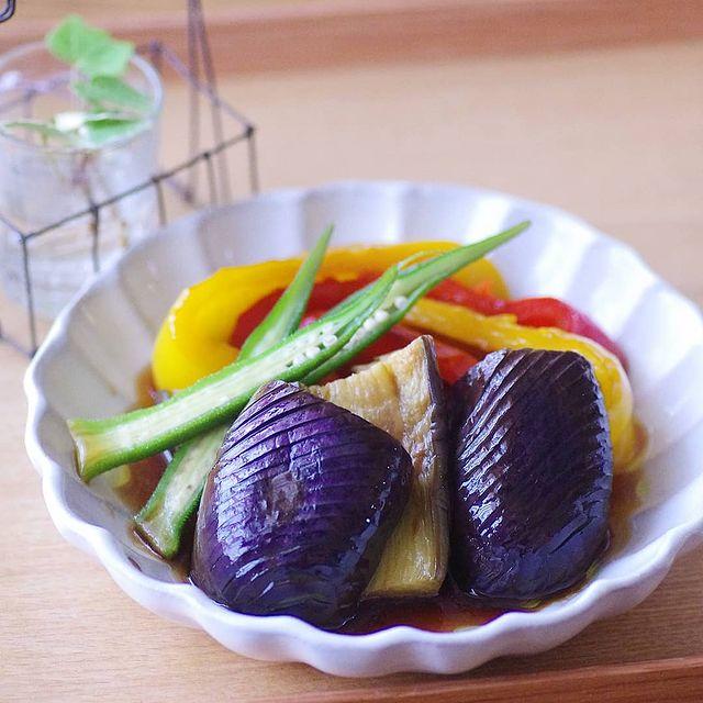 野菜の揚げ浸し