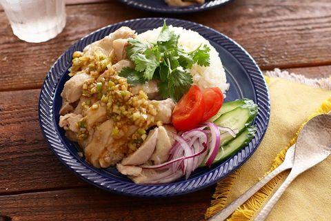人気のアジアン料理♪カオマンガイレシピ