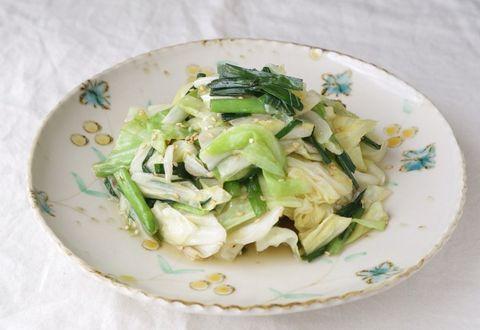 人気副菜!だしで食べるキャベニラ炒めレシピ