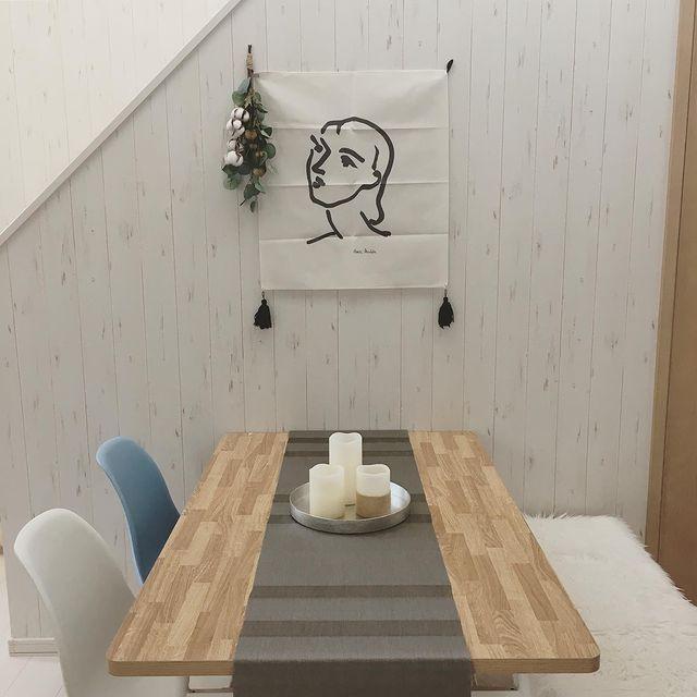 韓国インテリアに欠かせないおしゃれなアート