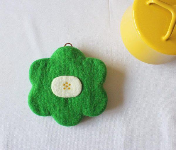 お花のポットマットの手作りプレゼント