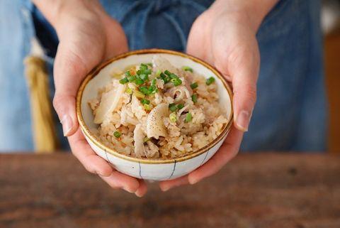 人気ご飯♪豚バラ大根の炊き込み中華飯レシピ