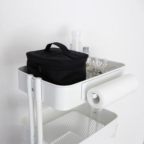 IKEAのワゴンを使ったおしゃれな洗面所収納
