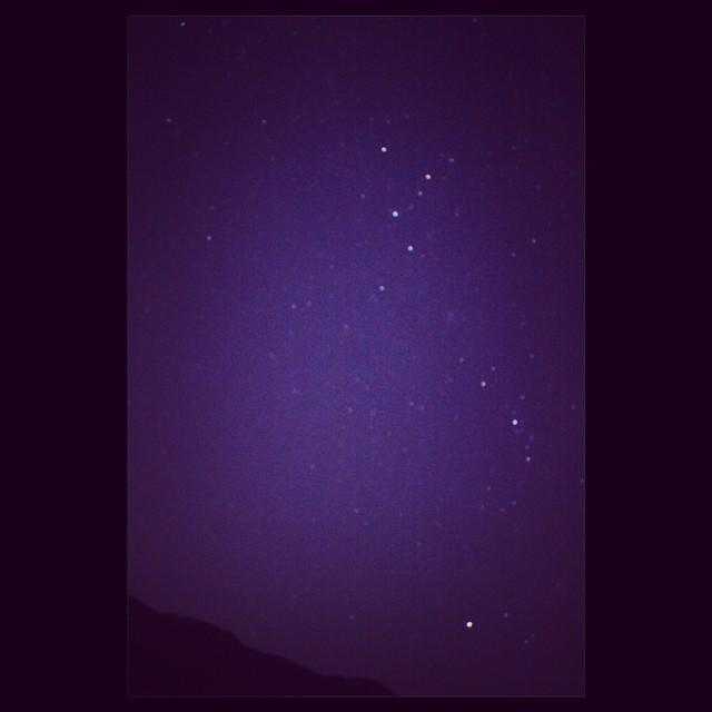 美しいを表現する素敵な言葉「星月夜」