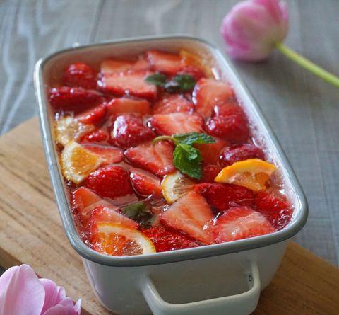 苺ヨーグルトゼリー
