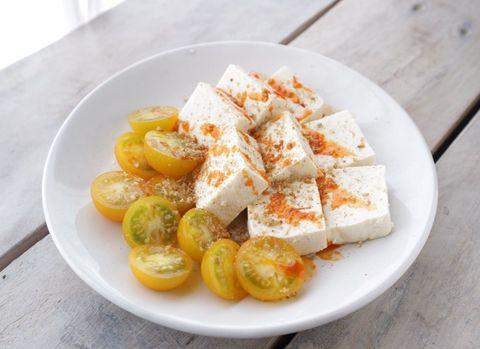 豆腐の中華カプレーゼ