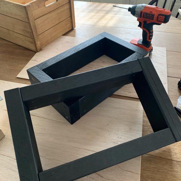 横幅サイズを変えられるテレビボードの作り方6