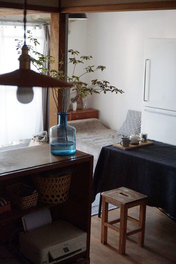 ヴィンテージ家具を楽しむ和風インテリア実例