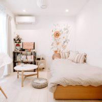 広く使えるワンルームのインテリア特集。自分好みのおしゃれな部屋作りをご紹介