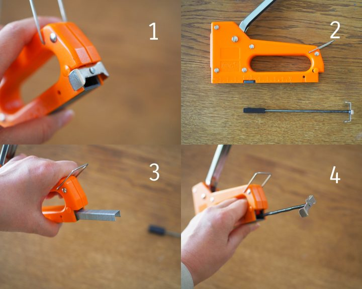 タッカーの使い方3