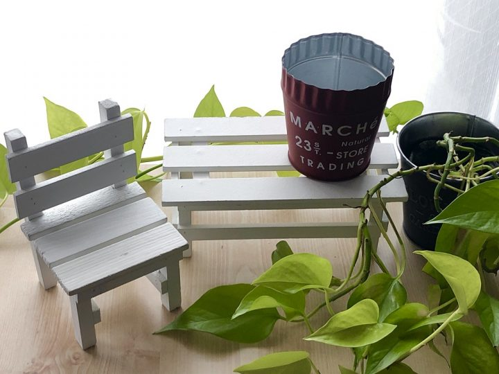 「観葉植物」をおしゃれに飾る100均グッズ
