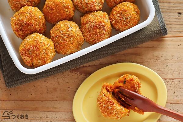 オーブンで簡単!かぼちゃのクロケットレシピ