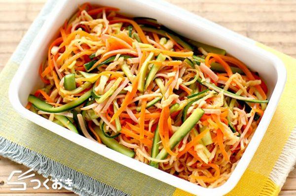 彩り綺麗♡切り干し大根の中華風サラダレシピ