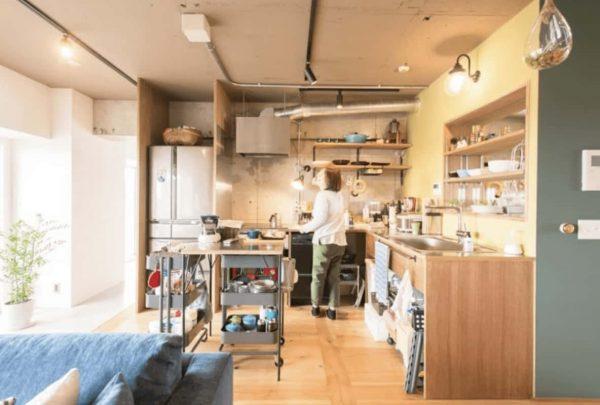 L字型キッチン