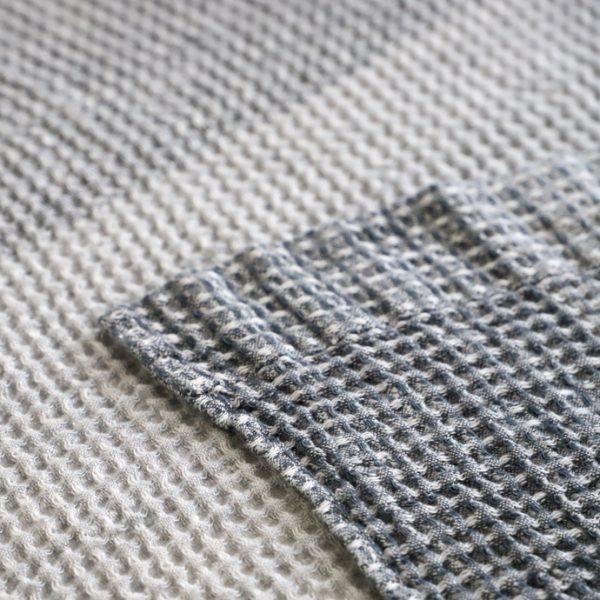 凸凹したワッフル織り─トランザット、エキュム4