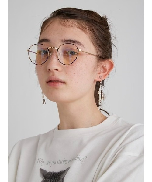 [FURFUR] ブルーライトカットメガネ