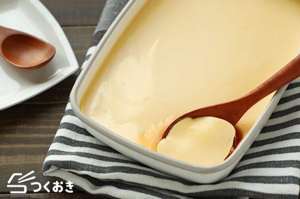卵黄追加で濃厚お菓子♪なめらかプリンレシピ