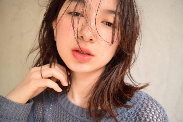 黒髪×シースルーバング7