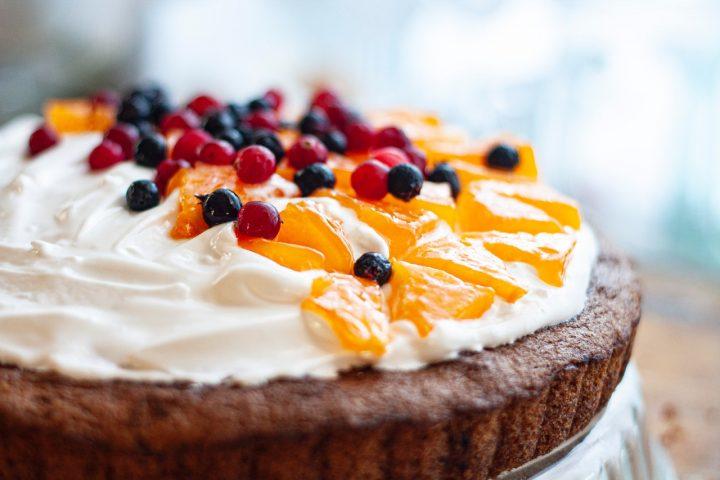 ケーキのおしゃれな写真の撮り方のコツ《斜め》