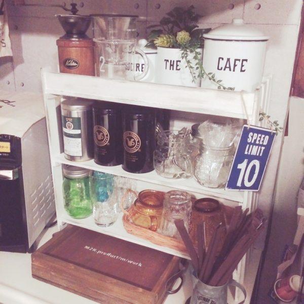調味料置きにするキッチン100均DIY