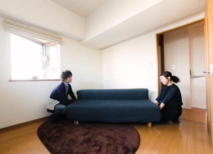 ポイント2 背の高い家具は視線が集まりにくい場所に置く
