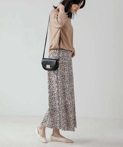 [Bou Jeloud / Bab] レオパードパターンスカート
