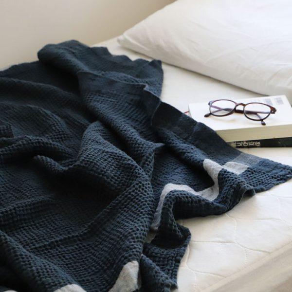凸凹したワッフル織り─トランザット、エキュム2