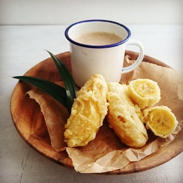 人気完熟バナナスイーツ:ピサンゴレン