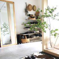 おしゃれな玄関の鏡10選。インテリアに馴染む壁掛け・姿見をご提案