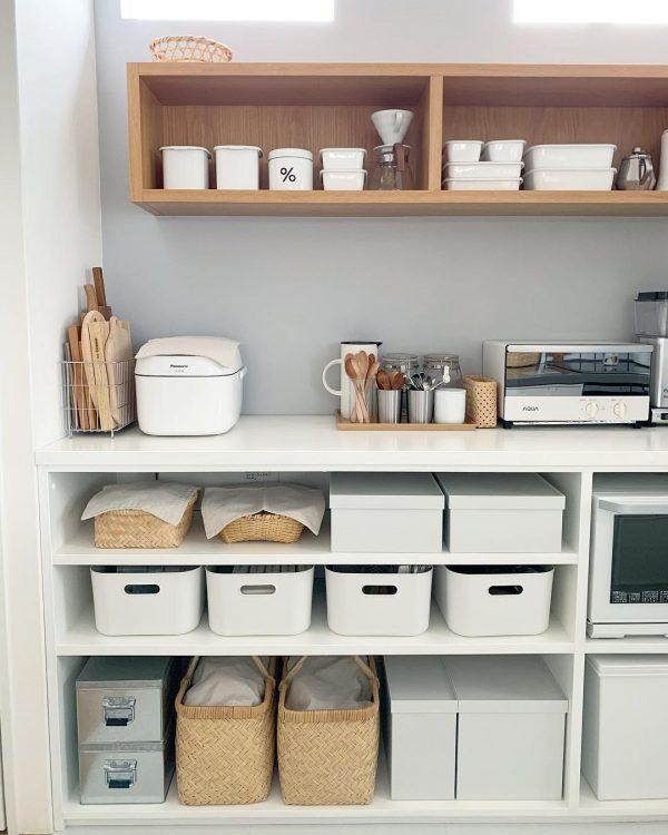 無印のキッチン収納アイテム2