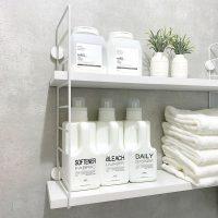 壁面収納で快適な洗面所を実現。おしゃれに整理整頓できるアイデア実例まとめ