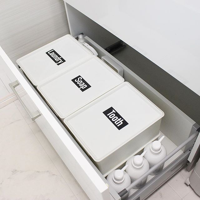 便利なボックスで整理した実例