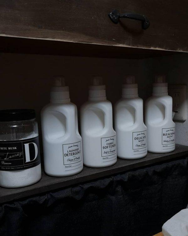 洗剤詰め替え用ラベルシール