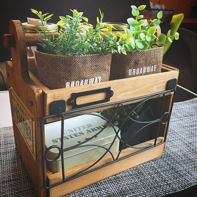 ボックスとカッティングボードで作る小物入れDIY