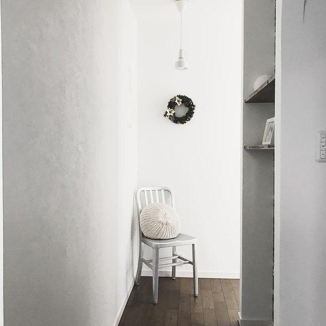 椅子を活用したおすすめ廊下収納アイデア