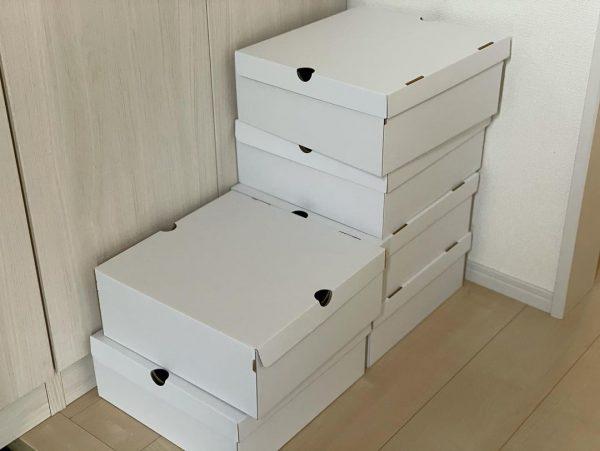 スノーブーツも同シリーズの箱で収納