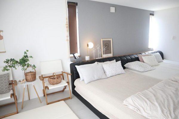 ベッドを組み合わせた寝室レイアウト
