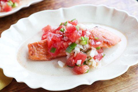 人気の献立:鮭のソテー