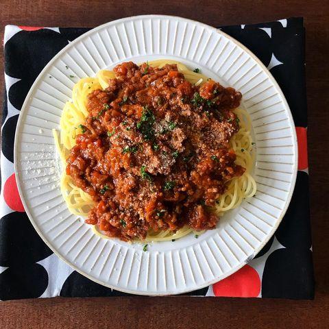 中学生の子供が喜ぶ簡単レシピ:ミートソース